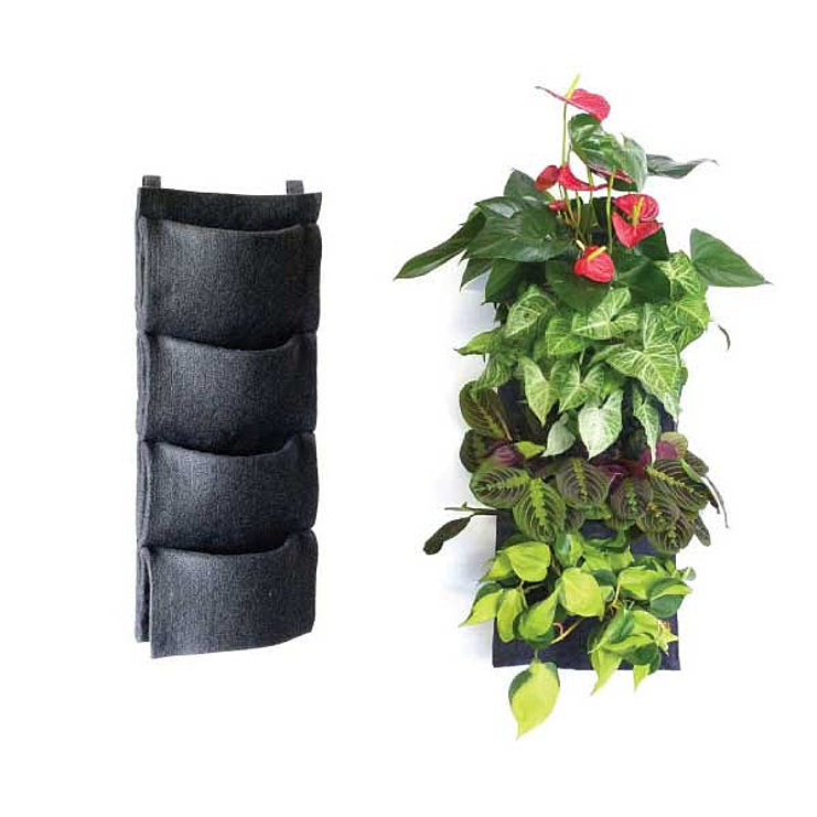Florafelt-Living-Wall-Planter-4-Pocket-1