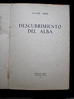 Xavier Abril. Descubrimiento del...