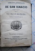 Ejercicios Espirituales, San Ignacio