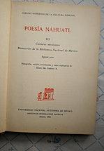 POESÍA NAHUATL