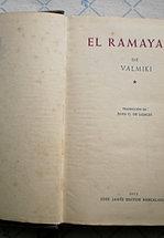 EL RAMAYANA.  VALMIKI