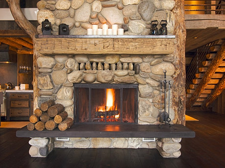 how to turn off heat and glo fireplace