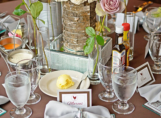 Beautiful Table Arrangement