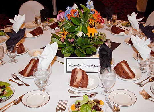 Banquet Set Up - Desserts