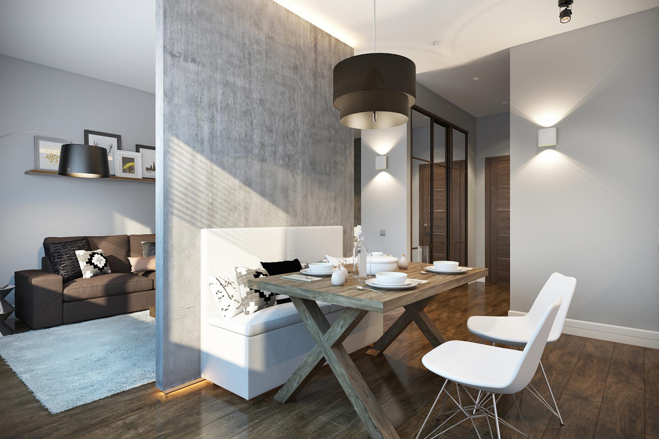 Дизайны квартир студий 30 кв.м