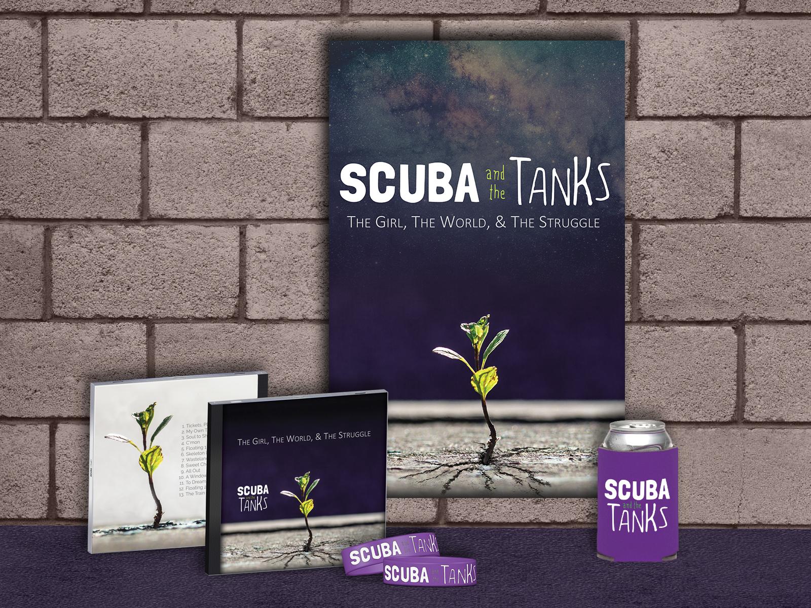 Studioveronna websites graphic design printing el paso tx scuba and the tanks merch magicingreecefo Choice Image