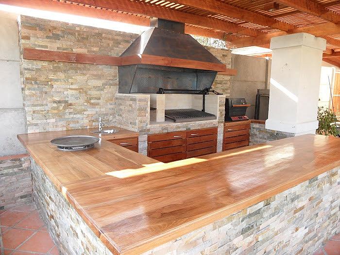 Awen construccion constructora awen quincho rustico - Cocinas en ele ...