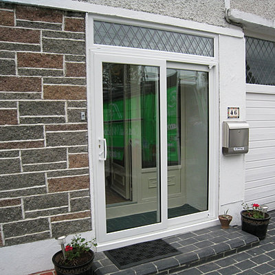 Patio sliding doors dublin for Double wide patio doors