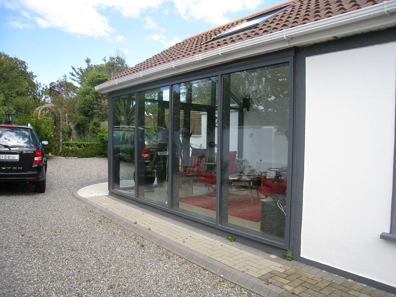... windows Dublin I Upvc Doors Dublin | Ral 7015 Aluminium curtain wall