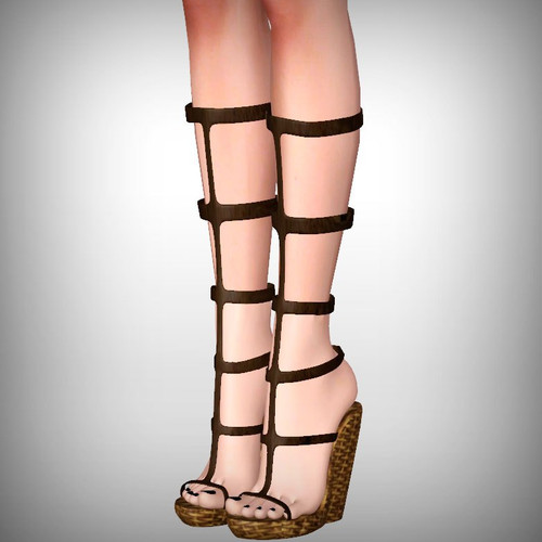 Sims 4 Leather Boots