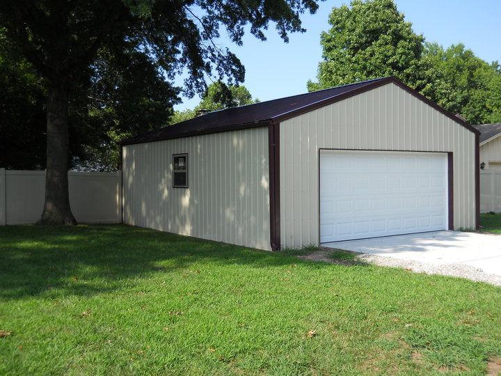 Farmhand pole barns shops metal homes and more for 24x36 pole barn