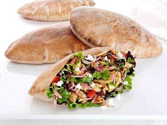 Greek Pita Pockets Greek Salad Chicken Pita