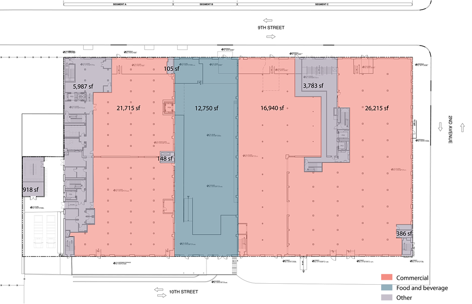Roulston house gowanus for Typical office floor plan