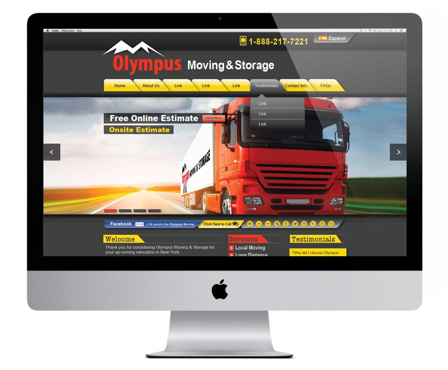 Olympus Website