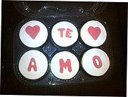 Cupcakes con mensaje 2
