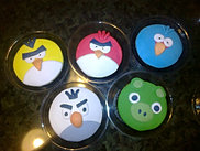 Cupcakes Infantil - Angry Birds