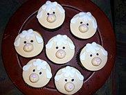 Cupcakes Ovejitas