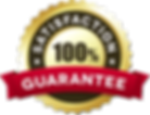 Satisfaction Guarantee - Gold & Red Bann