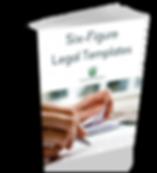 Legal Templates Cover - _Six Figure Legal Templates_ (Book Version).png