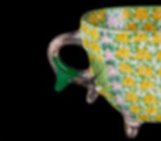 кинцуги, kintsugi, керамика, чашка, ремонт, посуда, лак уруси, мастерская, россия, зеленый