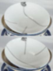 ремонт посуды, кинцуги, kintsugi, гайвань, крышка, серебро, лак уруси