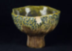 ремонт посуды, кинцуги, kintsugi, керамика, птичка, дерево, перламутр, лак уруси