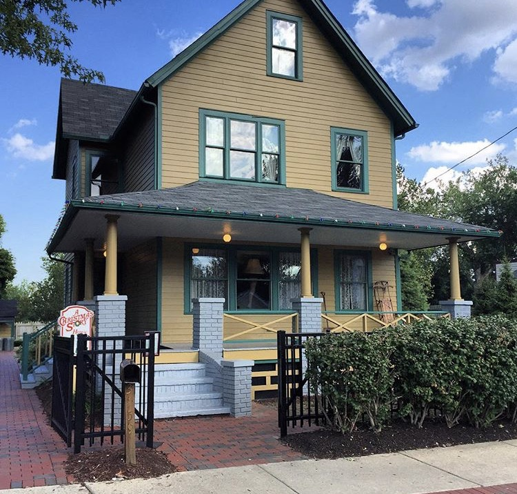the christmas story house is located on 3159 w 11th st cleveland oh 44109 in the tremont neighborhood the house is only 5 minutes from downtown - Where Was The Christmas Story Filmed