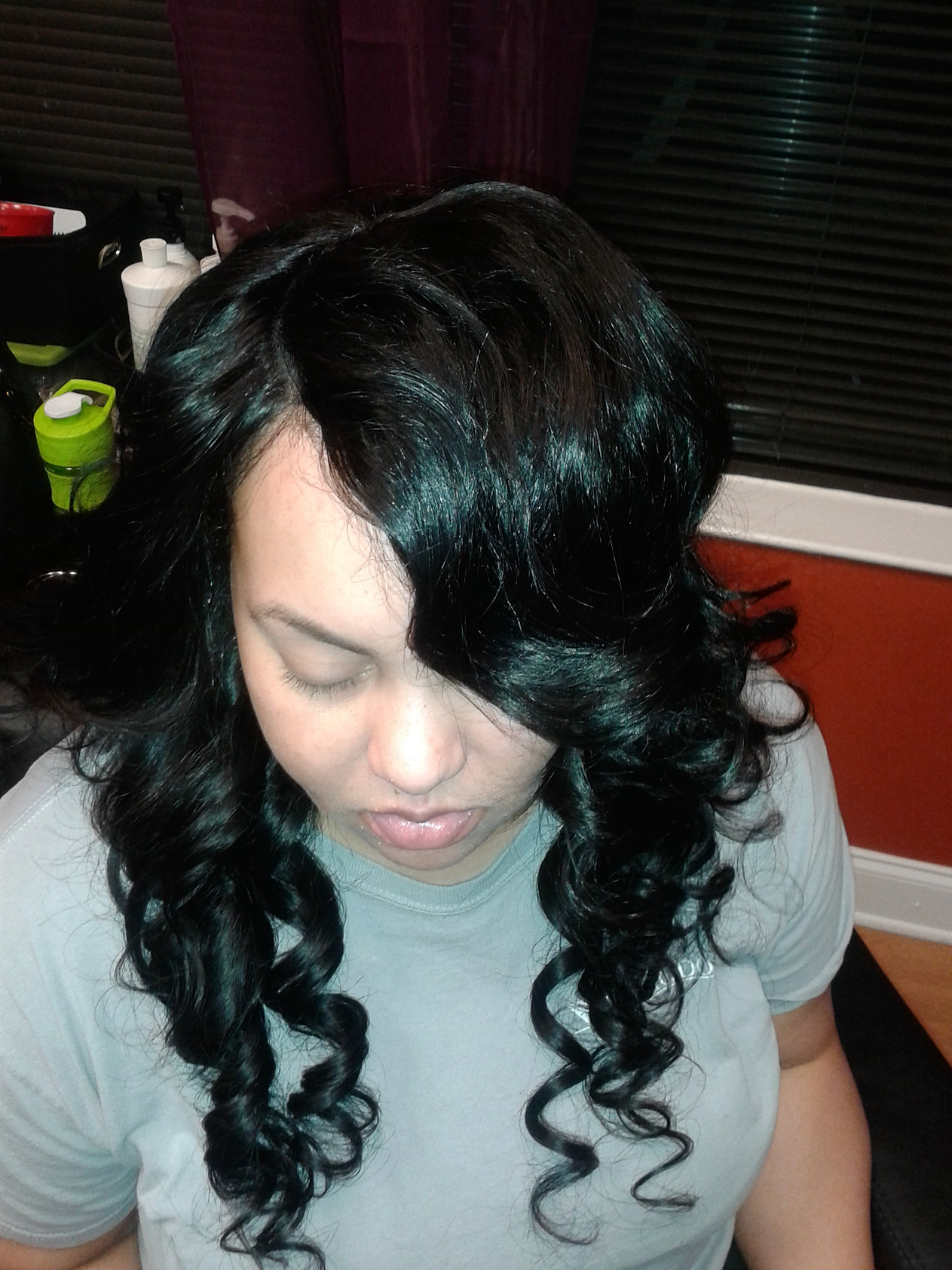 After Full SewIn with side closure!