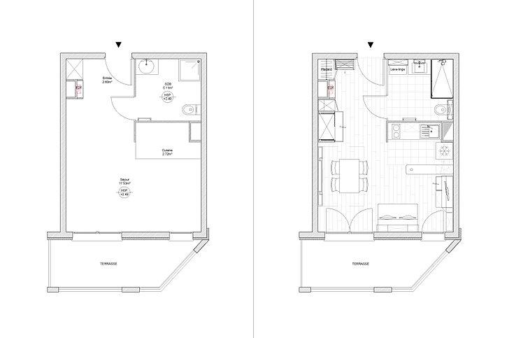 Architecte d 39 int rieur paris am nagement studio issy les for Garage ad issy les moulineaux