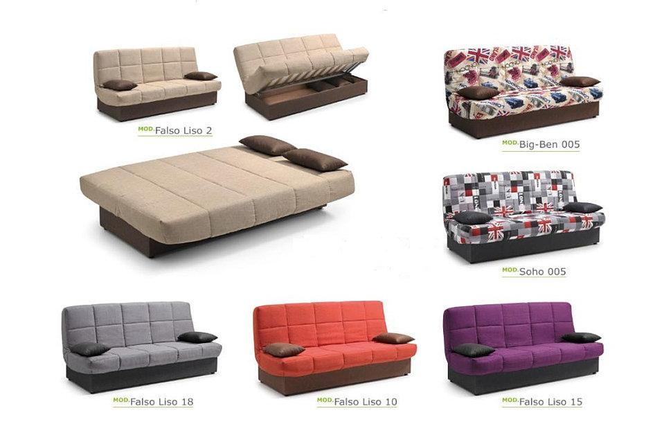 Morelax el arte del descanso alicante for Sofa cama clic clac conforama