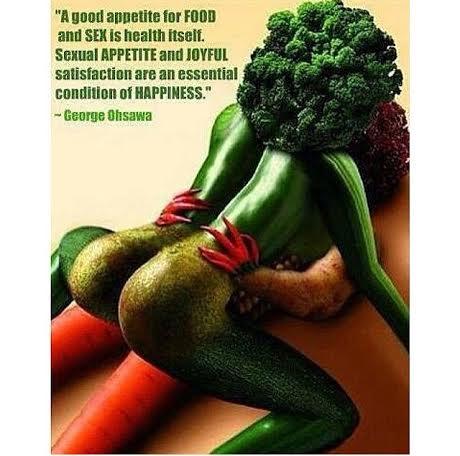 Овощ в секс