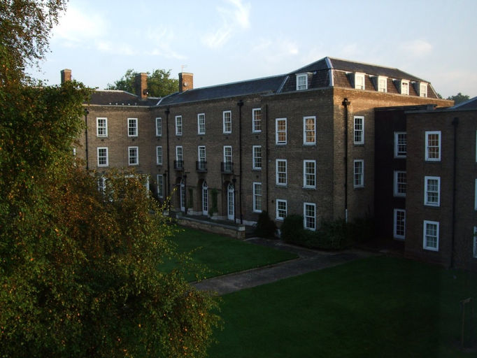 Quad view of JCR corner