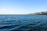 Interior del lago de Galilea