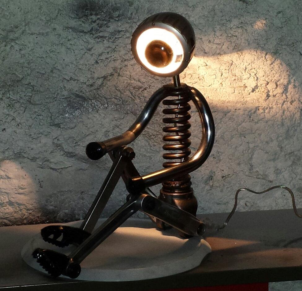 Akrogaz creations createur lampes horloges mobilier unique et design lampe - Avis mobilier unique ...
