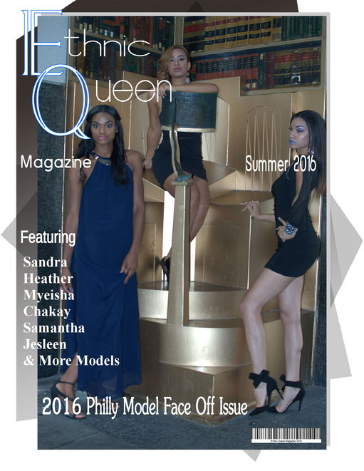 2016 Philly Face Off Ethnic Queen Magazine Summer Debut Issue release cover.jpg