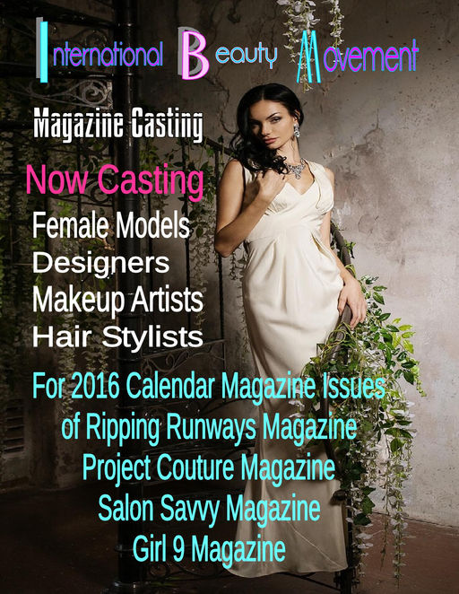 2016 Calendar model search Casting Call Poster-001.jpg
