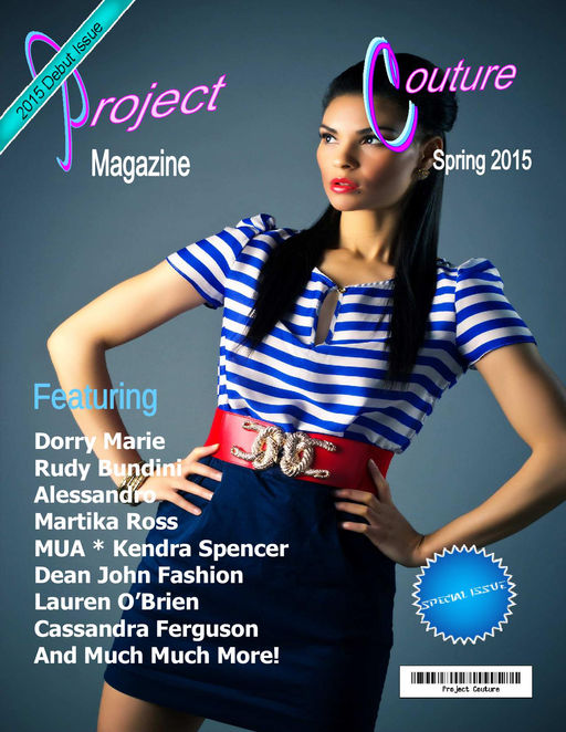 Project Couture Magazine Promo Cover three Spring 2015.jpg