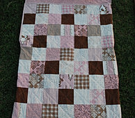 Patchwork Blocks Nap Sack