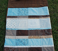 Patchwork Stripe Nap Sack