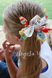Rags to Ruffles: Hair Bow