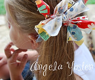 Rags to Ruffles: Hair Bow