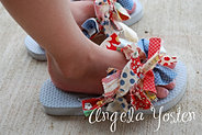 Rags to Ruffles: Flip Flops