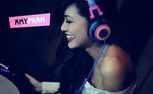 Amy Pham DJ's London Take-Over