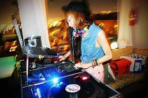 Amy Pham at Mondrian Hotel
