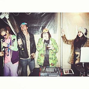 Amy Pham DJ's for 3Loko