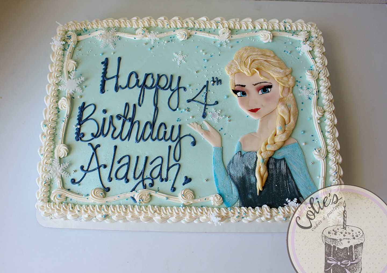 Sheet Cake For