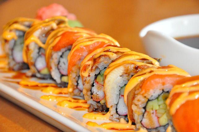 Blackjack sushi roll