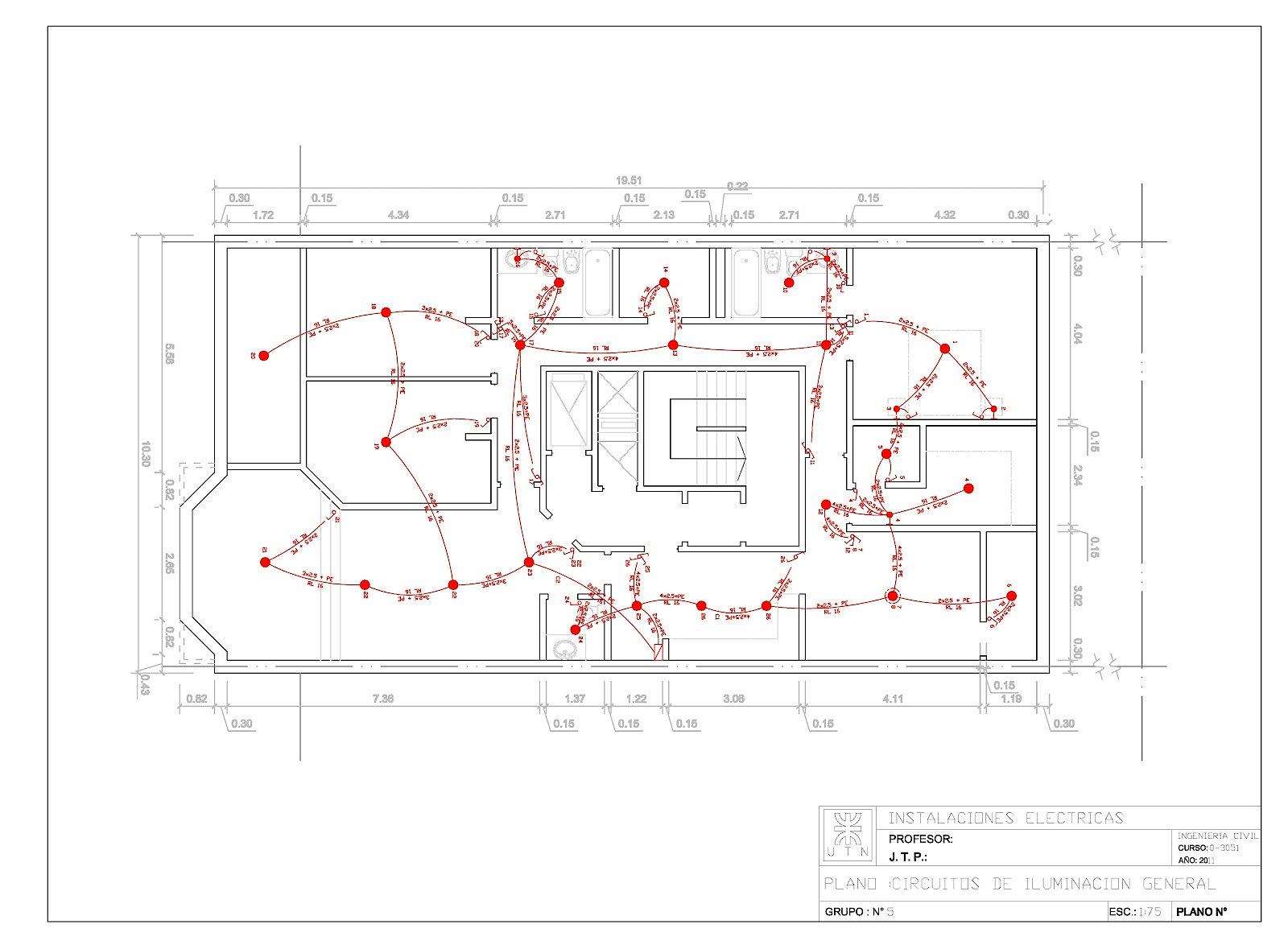 El planos el ctricos habitacionales for Realizar planos de casas