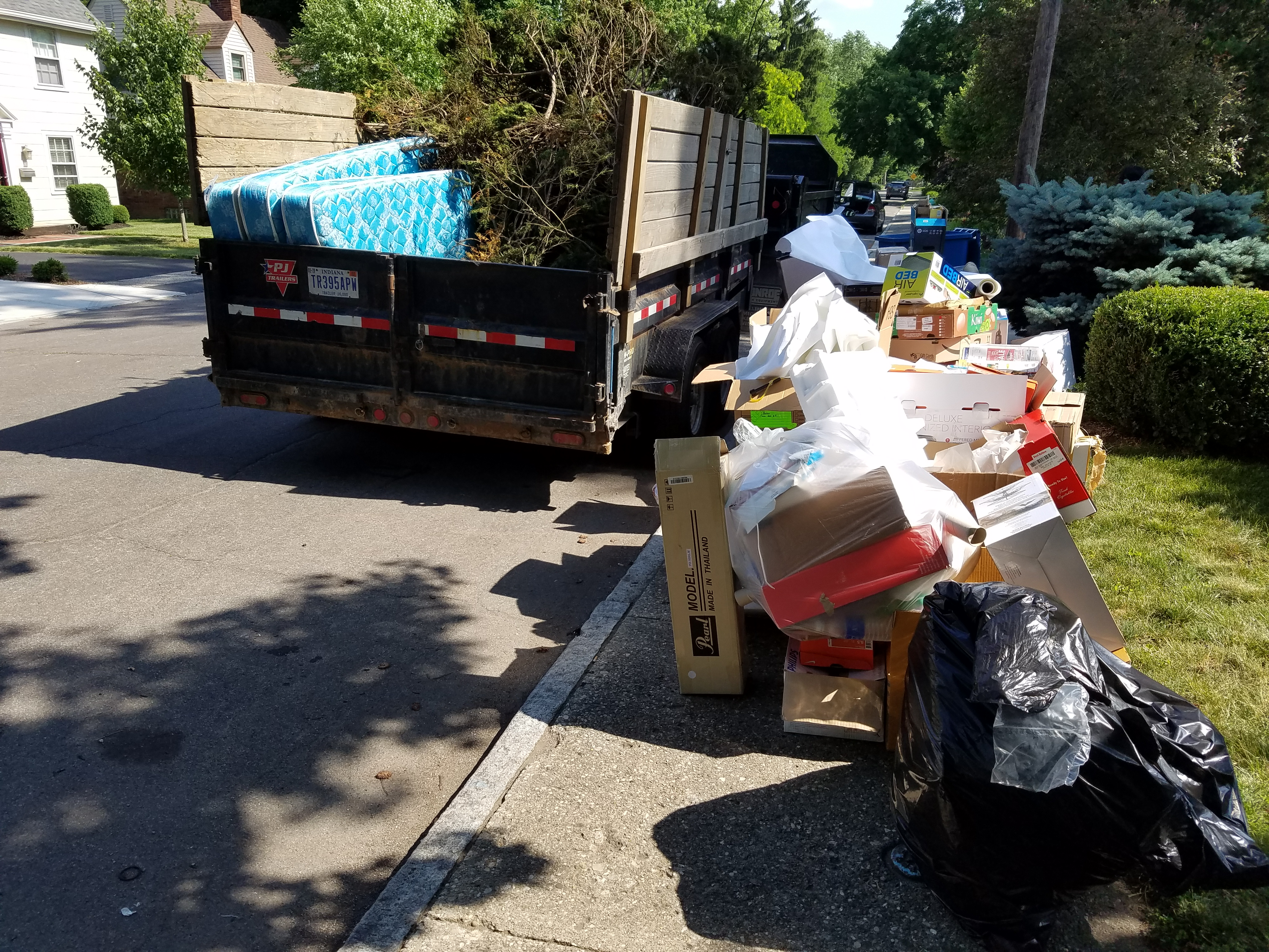 Curbside Pickup Trash Removal Schott Services Llc