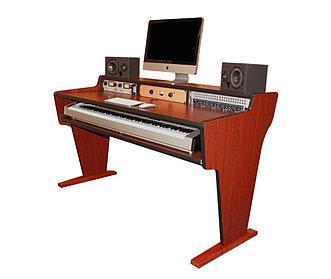 Sit Stand Studio Workstation DesksBazel Studio Desk